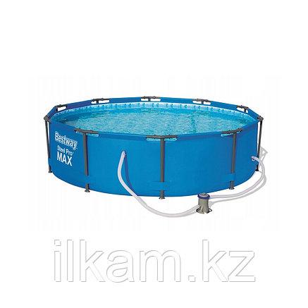 Каркасный бассейн Bestway 56984, Steel pro Max, размер 305х100 см, фото 2