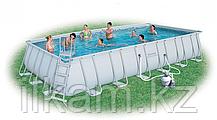 Прямоугольный каркасный бассейн, Power Steel Rectangular, Bestway 56475, размер 732 х 366 х 132 см, фото 2
