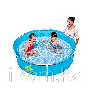 Детский каркасный бассейн Splash and Play, Frame Pool, Bestway 56283, размер 152х38 см, фото 2