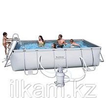 "Каркасный бассейн Bestway 56457,56244 ""Steel Pro Frame Pool"" размер 412x201x122 см, фото 2"