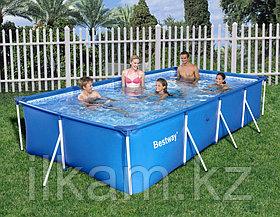 "Каркасный бассейн Bestway 56405, ""Steel Pro Frame Pool"" размер 400x211x81 см, фото 3"