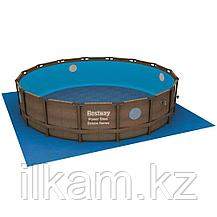 Круглый каркасный бассейн Rattan Power Steel Svim Vista Series, Bestway 56725, размер 488х122 см,, фото 3