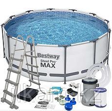 "Каркасный бассейн Bestway ""Steel Pro MAX"" 56420,56088, размер 366х122 см, фото 2"