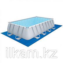 Прямоугольный каркасный бассейн, Power Steel Rectangular, Bestway 56670, размер 488х244х122 см, фото 3