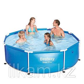 Каркасный бассейн Bestway 56431, Stee Pro Frame Pool, 244x61 см, фото 2