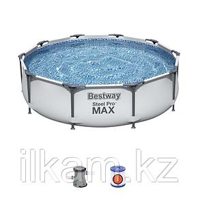 Каркасный бассейн Bestway 56408, Steel Pro MAX, размер 305x76 см, фото 2