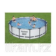 "Каркасный бассейн Bestway 56488 ""Steel Pro Max"" размер 457х107 см, фото 3"