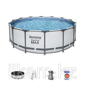"Каркасный бассейн Bestway 5612X ""Steel Pro Max"" размер 427х122 см, фото 2"