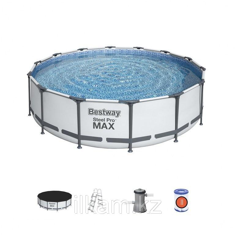 "Каркасный бассейн Bestway 56950 ""Steel Pro Max"" размер 427х107 см"
