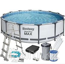 "Каркасный бассейн Bestway 56950 ""Steel Pro Max"" размер 427х107 см, фото 2"