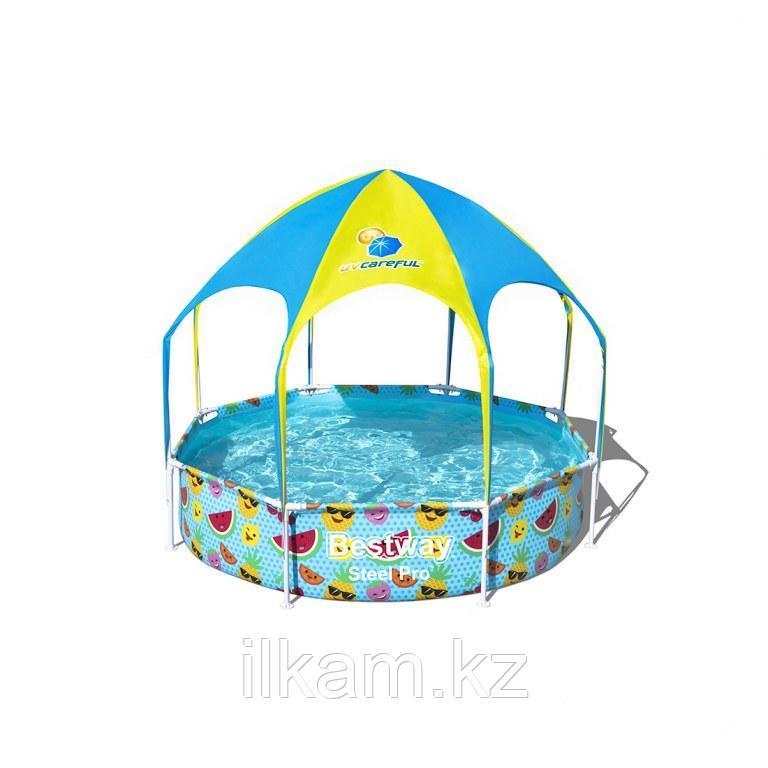 Каркасный бассейн Bestway 56432, Stee Pro Frame Pool, 244x51 см
