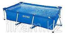 "Прямоугольный каркасный бассейн Intex 28271NP, 28271 (56403) ""Rectangular Frame Pool"", размер 260х160х65 см, фото 2"