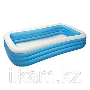 Детский прямоугольный надувной бассейн, Family, Intex 54009, 58484, размер 305x183x56 см, фото 2