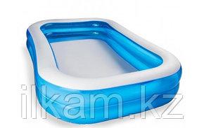 Детский прямоугольный надувной бассейн, Лагуна, Bestway 54006, размер 262 x 175 x 51 см., фото 2