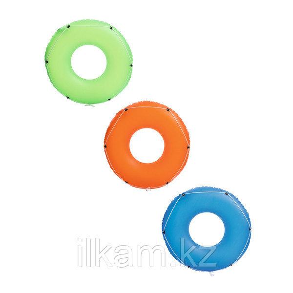 Детский надувной круг со шнуром в ассортименте, Color Blast, Bestway 36120, размер 119 см