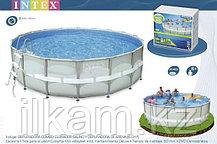 Круглый каркасный бассейн Intex 28332, 54926 Ultra Frame Pool, 549х132 см, фото 3