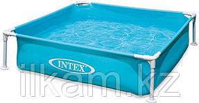 Каркасный бассейн Intex 57173, размер 122x122x30 см, фото 2