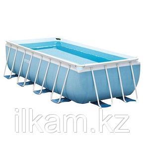 Прямоугольный каркасный бассейн Intex 28318, Ultra Frame Pool, размер 488x244x107 см, фото 2