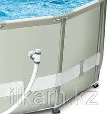 Круглый каркасный бассейн Intex 28322, Ultra Frame Pro Pool, размер 488х122 см, фото 3