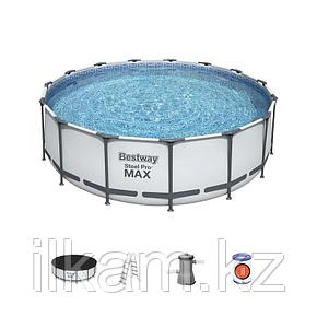 Каркасный бассейн Bestway 56438, Steel Pro MAX, размер 457х122 см, фото 2