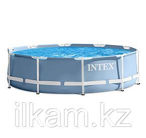 Каркасный бассейн Intex 28700, Metal Frame, размер 305x76 см, без фильтра, фото 2