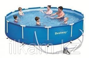 Каркасный бассейн Bestway 56408, Steel Pro Frame Pool, размер 305x76 см, фото 2