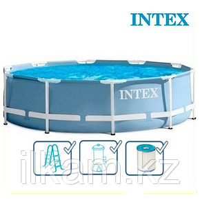 Круглый каркасный бассейн Intex 28716, Prism Frame, размер 366x99 см, фото 2