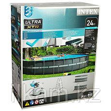 Круглый каркасный бассейн, Ultra XTR Frame, Intex 26340NP, 26340, размер 732х132 см, фото 2
