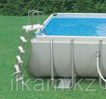 Прямоугольный каркасный бассейн Intex 26374NP, 28372,26734, Ultra Frame Pools, размер 975х488х132 cм, фото 2