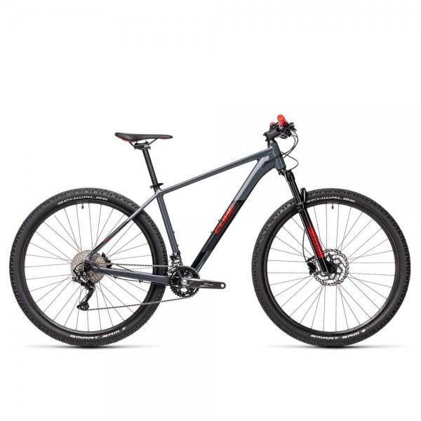 Велосипед горный Cube Attention 29 (2021) Grey Red