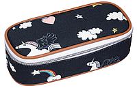 Пенал школьный/ пенал классический к рюкзаку Rainbow Unicorn