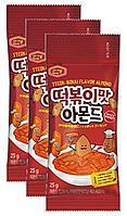 Миндаль Murgerbon со вкусом токпокки (приправленный) 25гр (Корея)