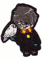 Наклейка-патч для одежды Гарри Поттер 7