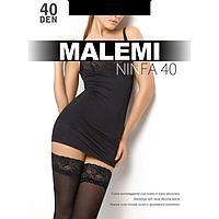Чулки MALEMI Nimfa 40 цвет чёрный (nero), р-р 3