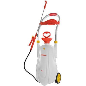 Опрыскиватель помповый, 16 л, на колёсиках, GRINDA Handy Spray