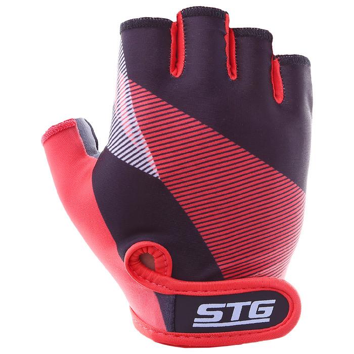 Перчатки велосипедные STG Х87912, размер S