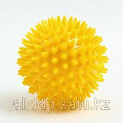 Мяч массажный ø8 см., цвет желтый