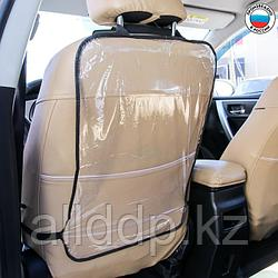Защитная накидка на спинку сиденья автомобиля, 60х40, ПВХ