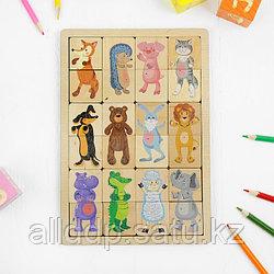 Игра развивающая деревянная «Зоопарк»