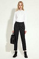Женские осенние серые деловые брюки Панда 15460z темно-серый 42р.