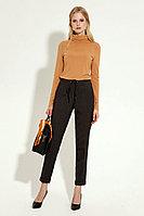 Женские осенние коричневые деловые брюки Панда 2360z коричневый 42р.