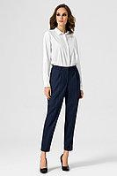Женские осенние синие деловые брюки Панда 9463z синий 42р.