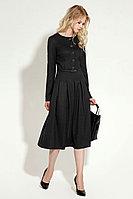 Женское летнее серое платье Панда 11480z темно-серый 40р.