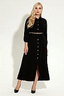Женское летнее из вискозы черное платье Панда 4780z черный 44р.