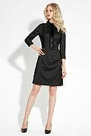 Женское осеннее серое нарядное платье Панда 5980z темно-серый 42р.