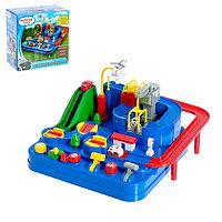 Настольная развивающая игра «Отряд спасения», с тремя машинками