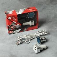 Набор аксессуаров для автомобиля 'Первый во всем', магнитный держатель, USB-адаптер, кабель для зарядки