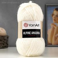"""Пряжа """"Alpine Angora"""" 20% шерсть, 80% акрил 150м/150гр (332)"""