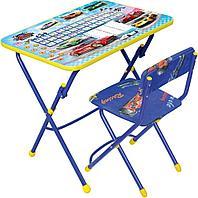 НИКА Набор мебели БОЛЬШИЕ ГОНКИ (стол-парта +мяг стул)