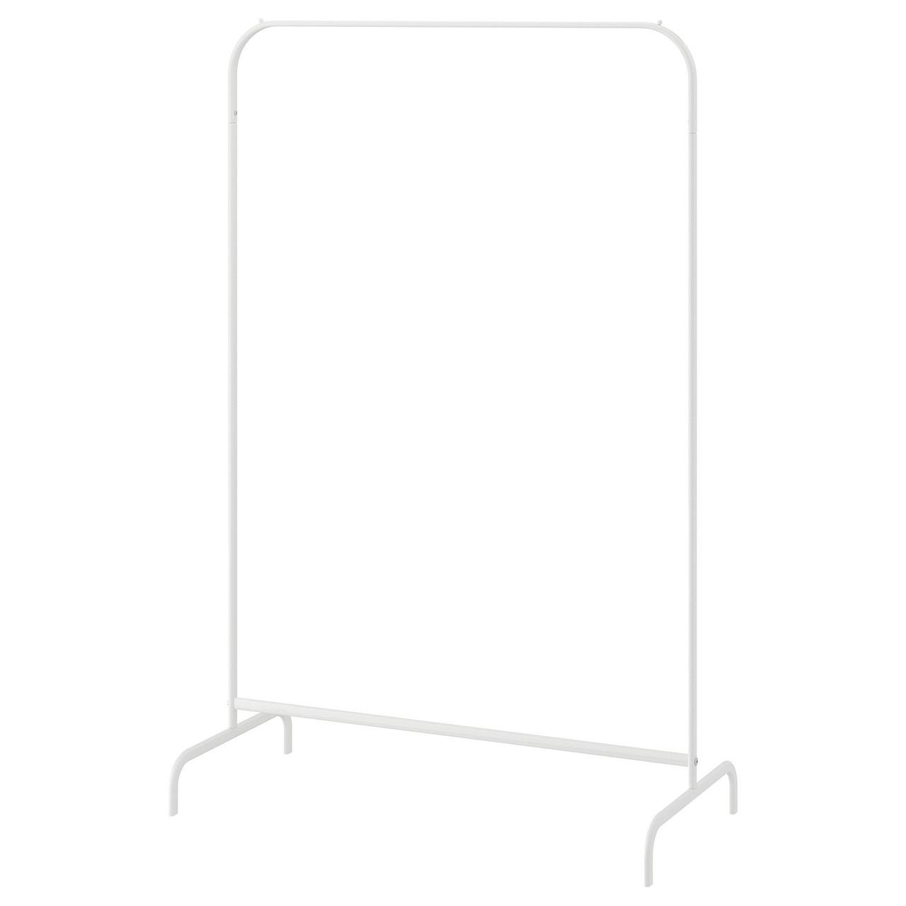 Напольная вешалка MULIG Муллиг, белый 99x152 см